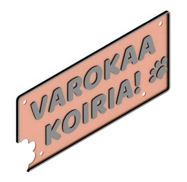 HJV Varokaa Koiria Oranssi Musta