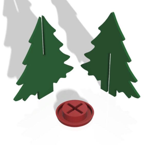 HJV Joulukuusi Osat TN